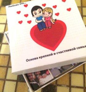 Коробка конфет с фото