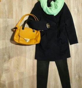 Пальто кашемир/шерсть и аксессуары
