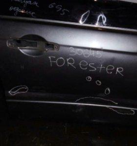 Дверь передняя правая субару форестер с11
