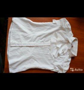 Блузки школьные на девочку