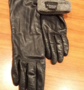 Кожаные перчатки Gucci