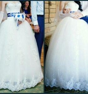 Шикарное свадебное платье! Срочно!!!