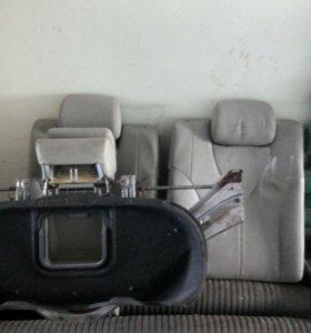 Седенья на камри с подушками и электро приводом