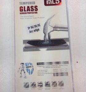 Защитное стекло для iPhone 5/5s/5c/SE