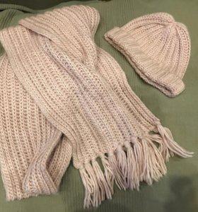 Комплект шапка/шарф