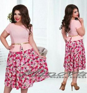 Луанн платье розовое