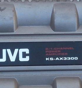 Автомобильный двухканальный усилительJVC