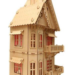 Чудо домик. Кукольный домик.