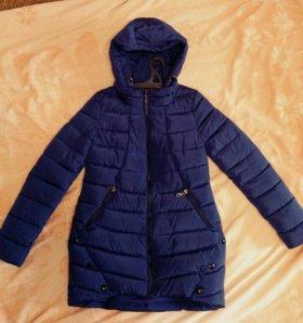 Женская куртка весна-осень,тёплая зима 42-44