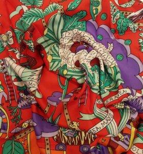 Новый шелковый платок Hermes
