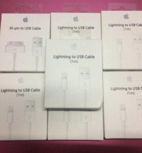 USB кабеля iPhone 4,5,6,7