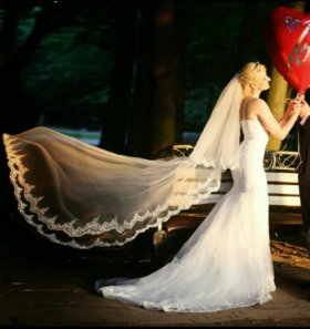 Свадебное платье эксклюзивное.