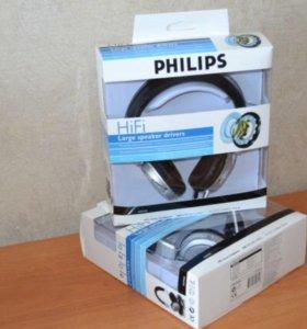 Наушники Philips с микрофоном