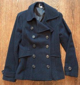 Пальто синее H&M