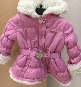 Тёплое пальтишко для снегурочки