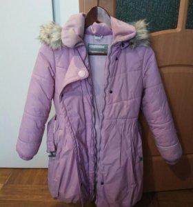 Пальто зимнее детское.