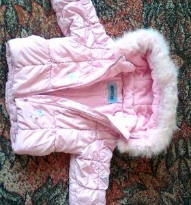 Курточка на девочку .