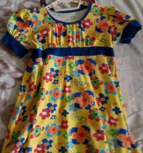Летнее платье 116-128