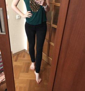 Джинсы/ брюки зауженные Zara
