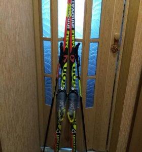 Лыжи с ботинкамм