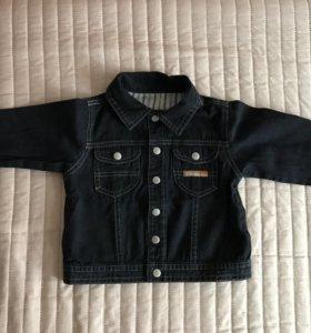 Джинсовая куртка mothercare