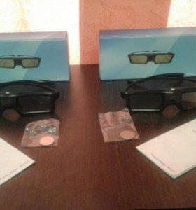 3-D очки,только в паре.