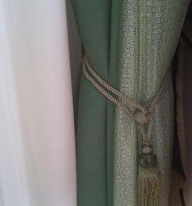 Занавески: шифон, аргандза, тюль, партиерные ткани