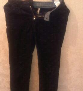 Утепленные вельветовые брюки. 134 размер