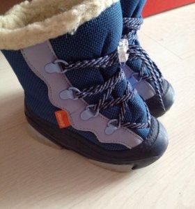 Зимние ботинки демары