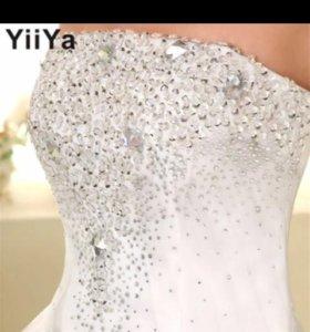 Новое свадебное платье!!