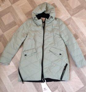 Удлинённая весенняя куртка