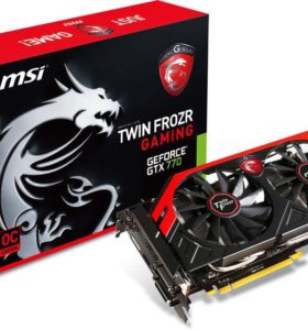 Видеокарта msi gtx 770 oc edition