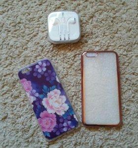 Новые оригинальные наушники iPhone 6