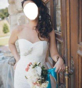 Платье свадебное дизайнерское размер 46 (М)
