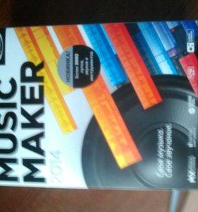 Программа для создания музыки Magix Music Maker