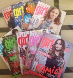 Журналы Elle Girl