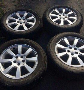 Диски+шины Subaru Forester Yokohama 215/60 R16 - 4