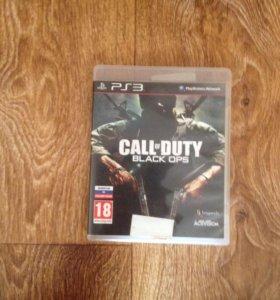 Диск на PS3 (Call of Duty Black Ops)