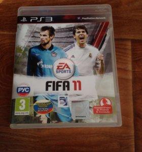 Диск на PS3 (FIFA 11)