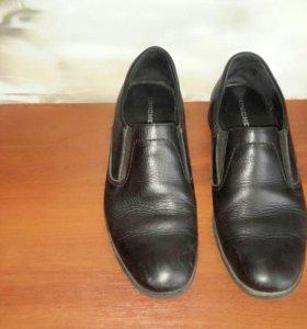 Туфли натур. кожа муж.(подростковые)