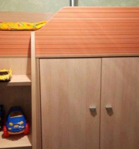 Детская кровать. 2-х ярусная.