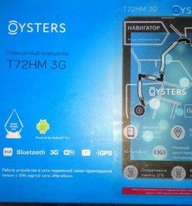 планшет навигатор oysters t72hm 3g