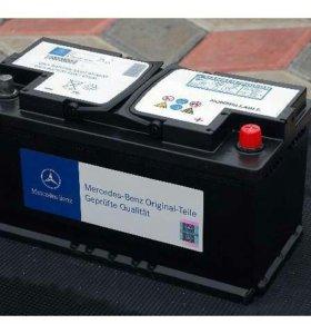 Оригинальный аккумулятор от mersedes gl500 100Ah
