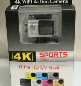 Экшн камера Andoer WiFi 4K Ultra-HD