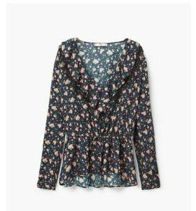 Новая блузка MANGO.