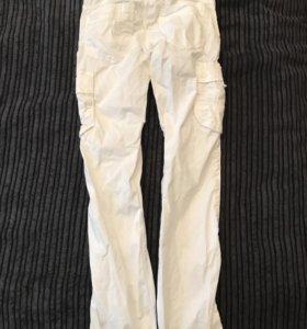 Штаны белые 130