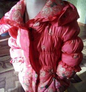 Куртка для девочки 2-3 лет