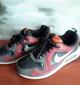 Кроссовки Nike Air Max натуралки(утепленные)