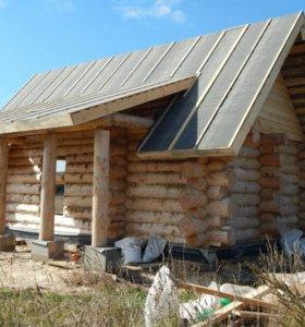 Деревянные дома бани срубы из Вологды