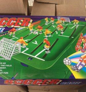 Футбол настольный новый